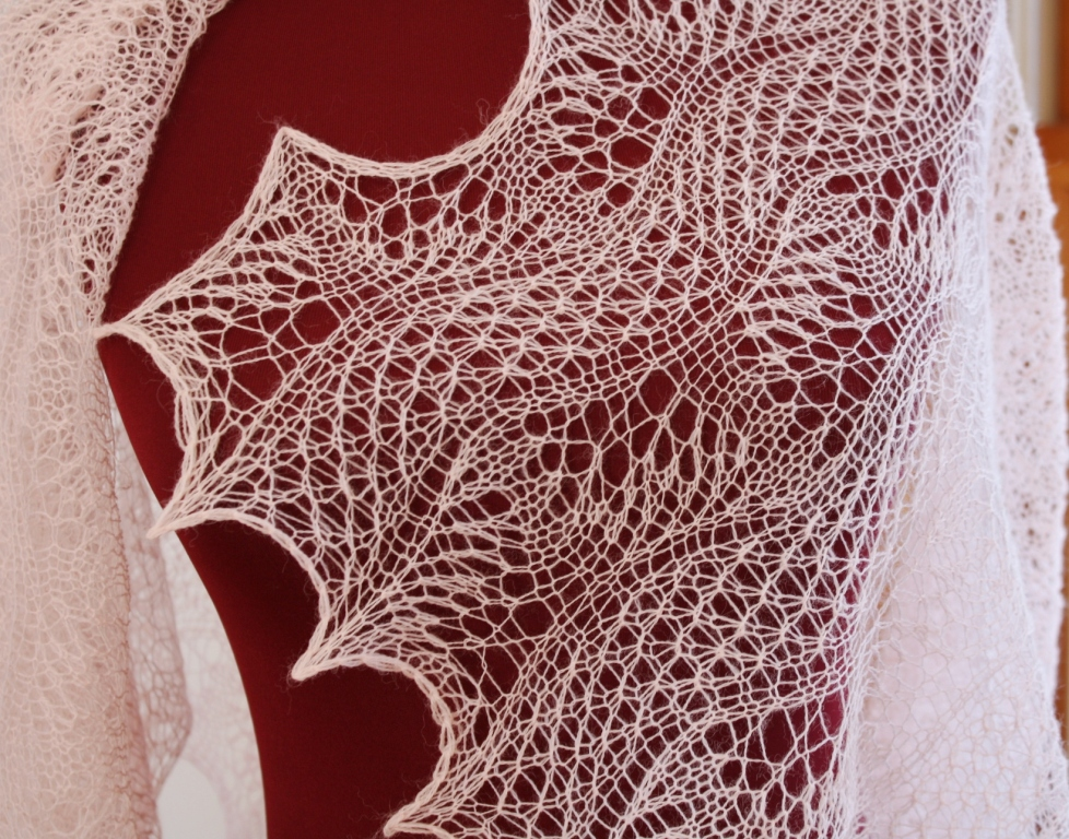 All Knitted Lace: Estonian 2x2 gathered stitch fascinates me