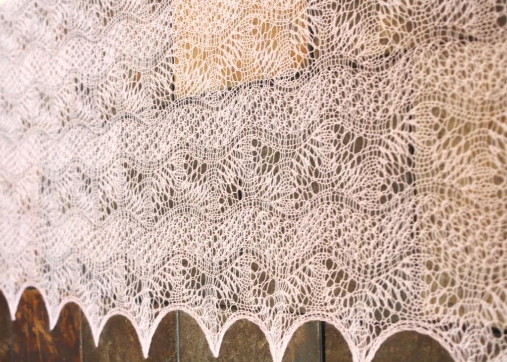 Knitting Gathered Stitches : All Knitted Lace: Estonian 2x2 gathered stitch fascinates me