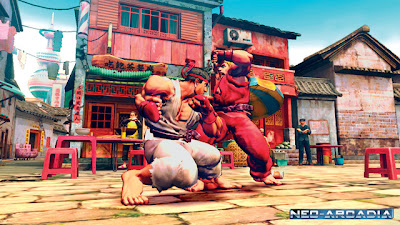 New Street Fighter IV screenshots !!!!