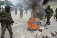 kenia violencia elecciones