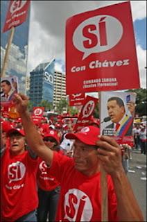 APOYO A LA REFORMA CONSTITUCIONAL marcha referendo consejo electoral de venezuela articulos bloques pregunta