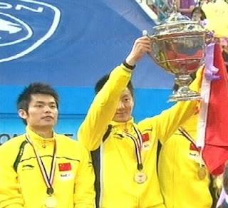 Juara Piala Thomas 2010 ialah China