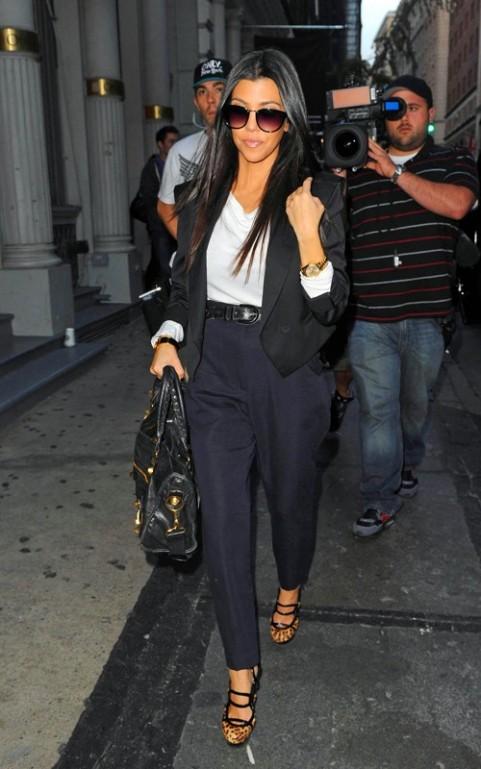 Fashionalities Kourtney Kardashian Style