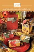 Autumn-Winterr Mini Catalogue
