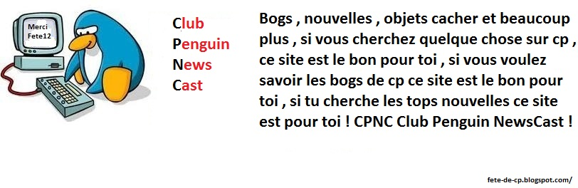 Club Penguin NewsCast CPNC