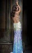 A very sexy backless prom dress