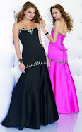 Sexy Long Strapless Prom Dress Item No 8108