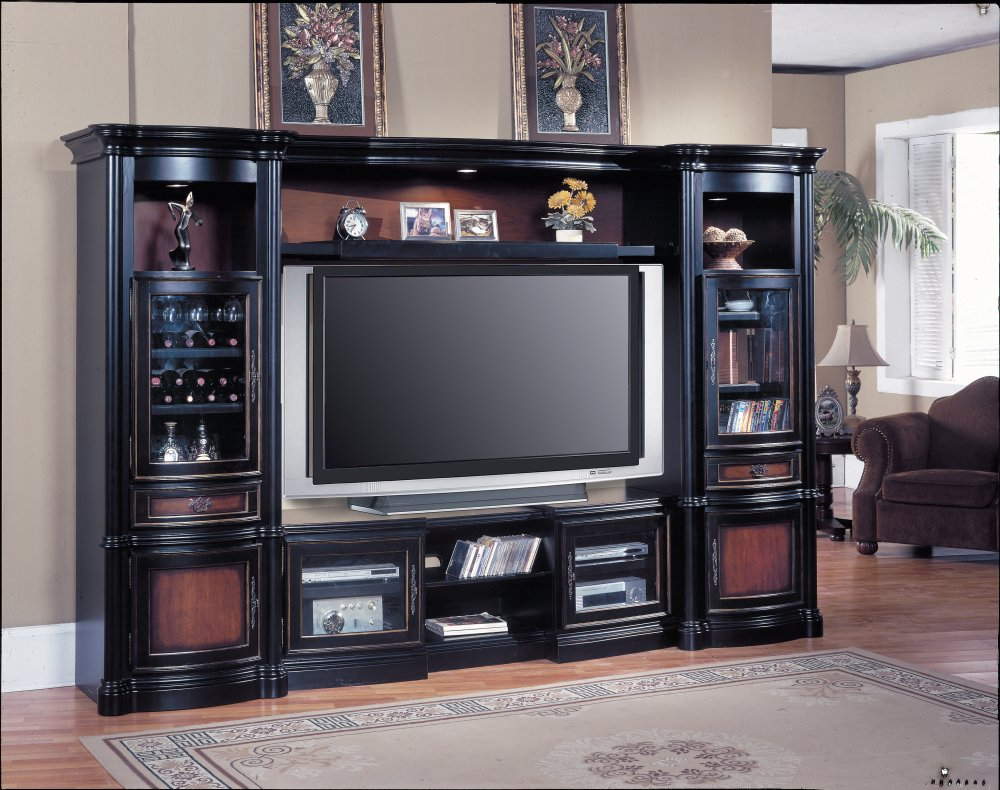 Entertainment center furniture ideas Home entertainment center
