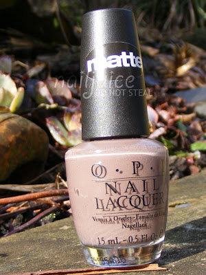 nail juice opi you dont know jacques matte