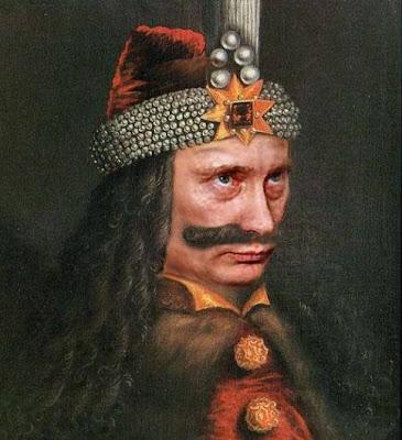 Putin as Vlad