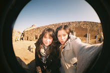FISH EYE ON THE GREAT WALL