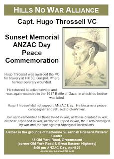 ANZAC Peace commemoration 25-4-09 Ph 9299 6453 Please enable images