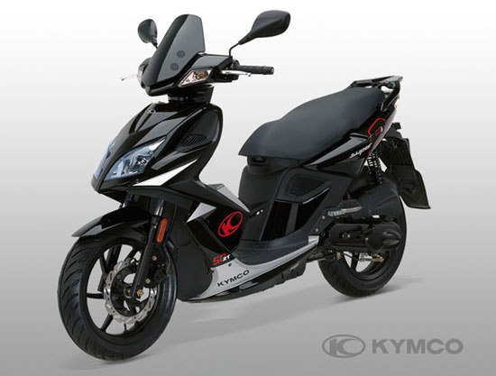 sports cycle scooter 2011 kymco super 8 50 2t. Black Bedroom Furniture Sets. Home Design Ideas