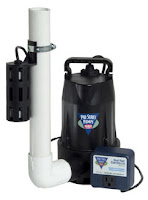 basic basement or crawl space sump pump