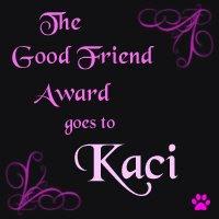 Kaci's award