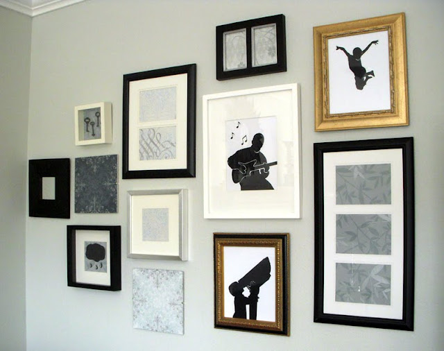 My Silhouette Photo Wall - Part V by Never Without