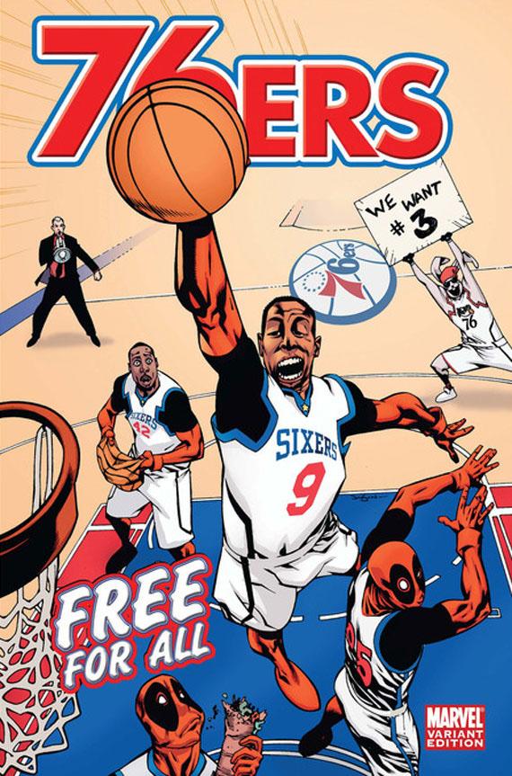 Book Cover Portadas Espn ~ Da spot espn marvel comics nba team covers