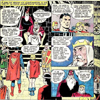 Showcase Presents : All-Star Comics (1976-1979) SJA+na+Corte+do+Rei+Arthur