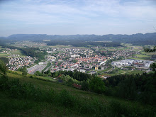 Sloveny Gradec from the mountain