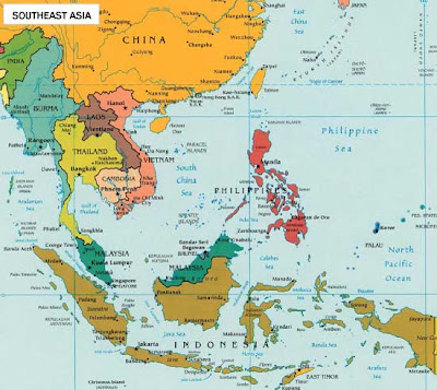 Map of china vietnam laos cambodiathailand and indonesia update map of china vietnam laos cambodiathailand and indonesia gumiabroncs Images