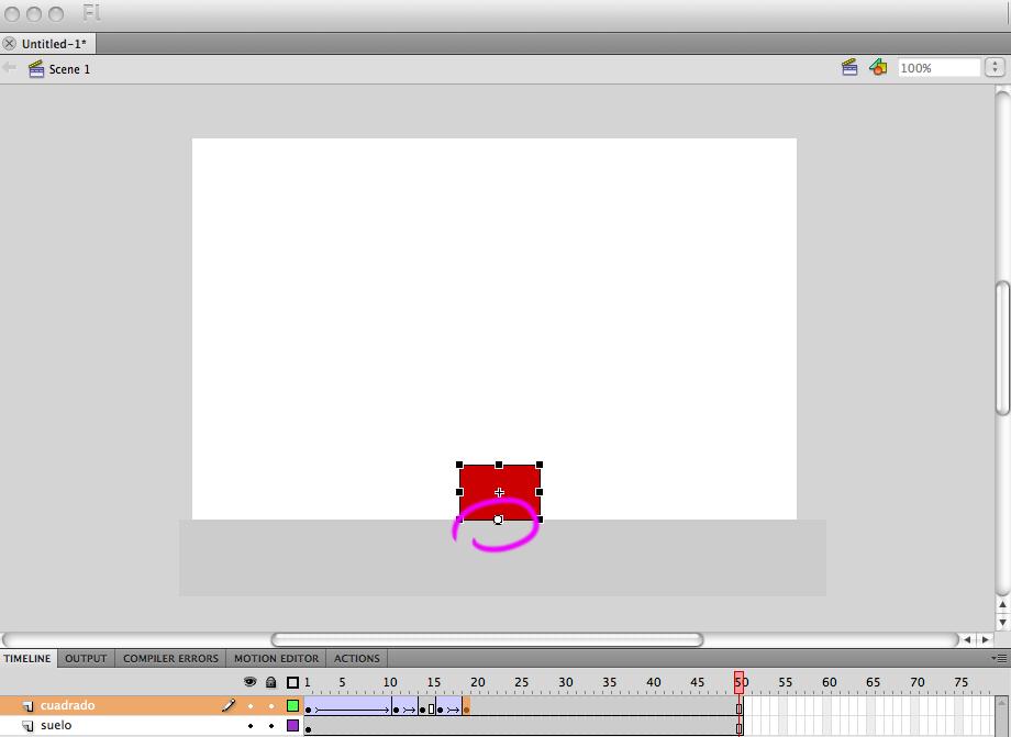 Cosas interesantes de animación: Números de fotogramas que hay que poner