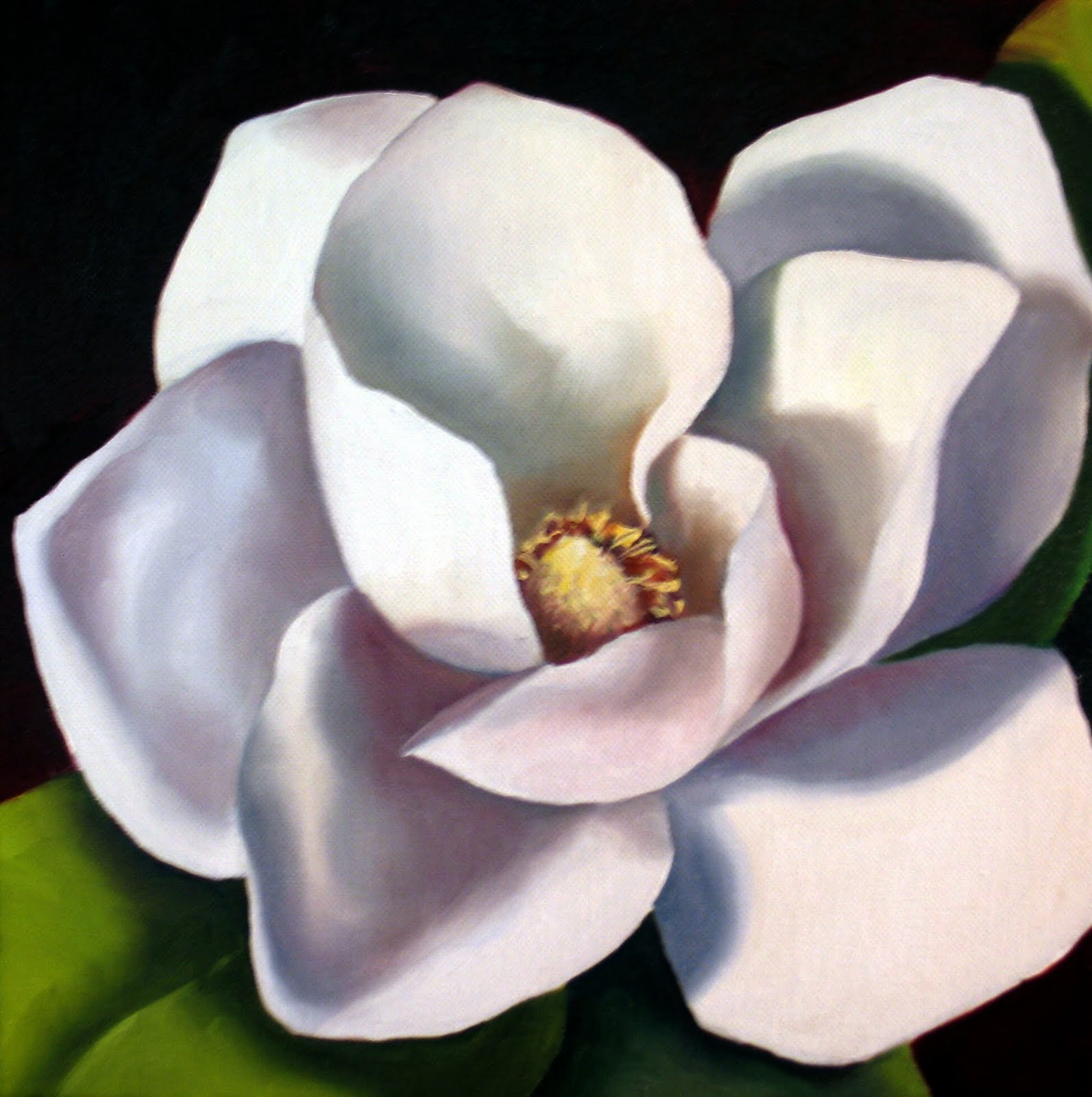 magnolia painting - photo #37