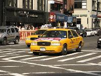 Taxi de Nueva York, el 7 de octubre de 2007, por Adam E. Moreira
