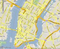 Zona de Manhattan donde se aplicará el plan de congestión vehicular, al sur de la calle 60
