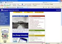 Sitio web del MTA hoy 8 de marzo