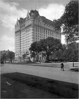 El Hotel Plaza el año de su apertura, en 1907