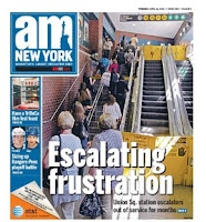 Subida frustrante: am New York