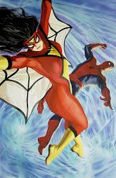 Spider-woman & Spider-man
