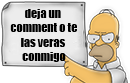 homer comment