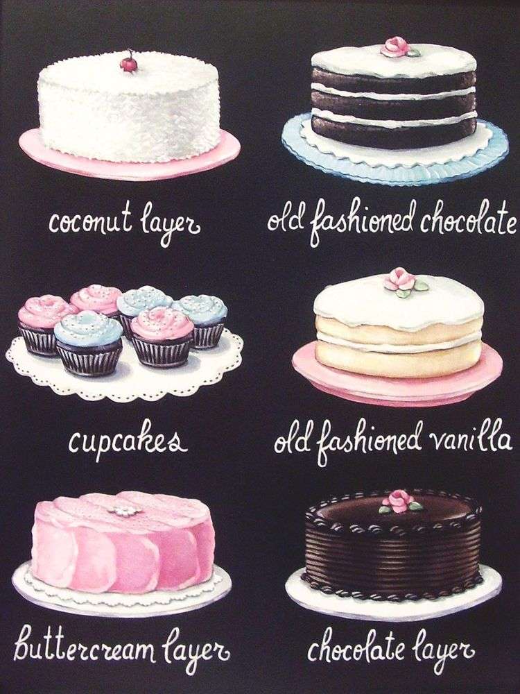 Images Of Cake With Name Chitra : Sofunkylicious: Vintage bakery : Everyday is a Holyday