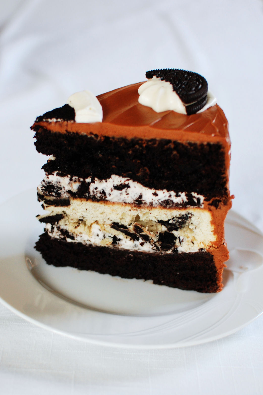 Triple Layer Oreo Cake | Beantown Baker