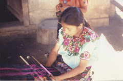 Weaving From a Backstrap Loom