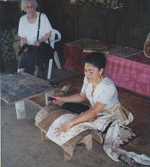 TAPA Making in TONGA