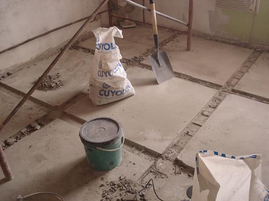 Proyectos olazar microcemento alisado - Pintar suelo de cemento ...