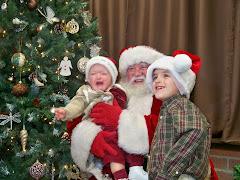 Santa at The Scrapbook Store