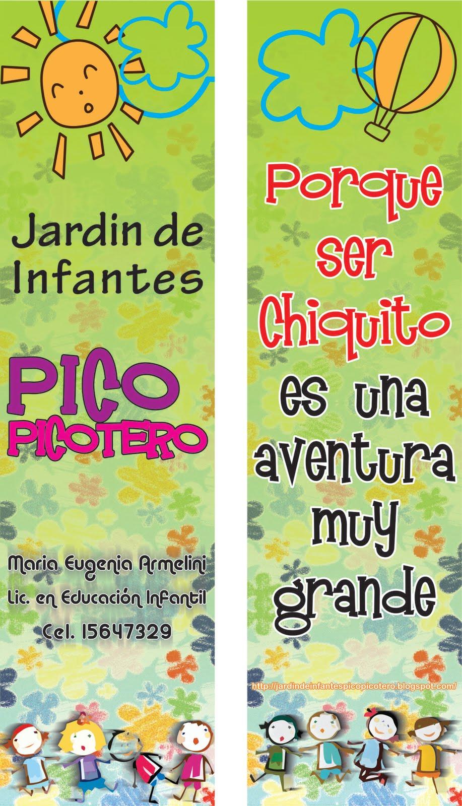 Jardin de infantes pico picotero for Canciones de jardin de infantes argentina