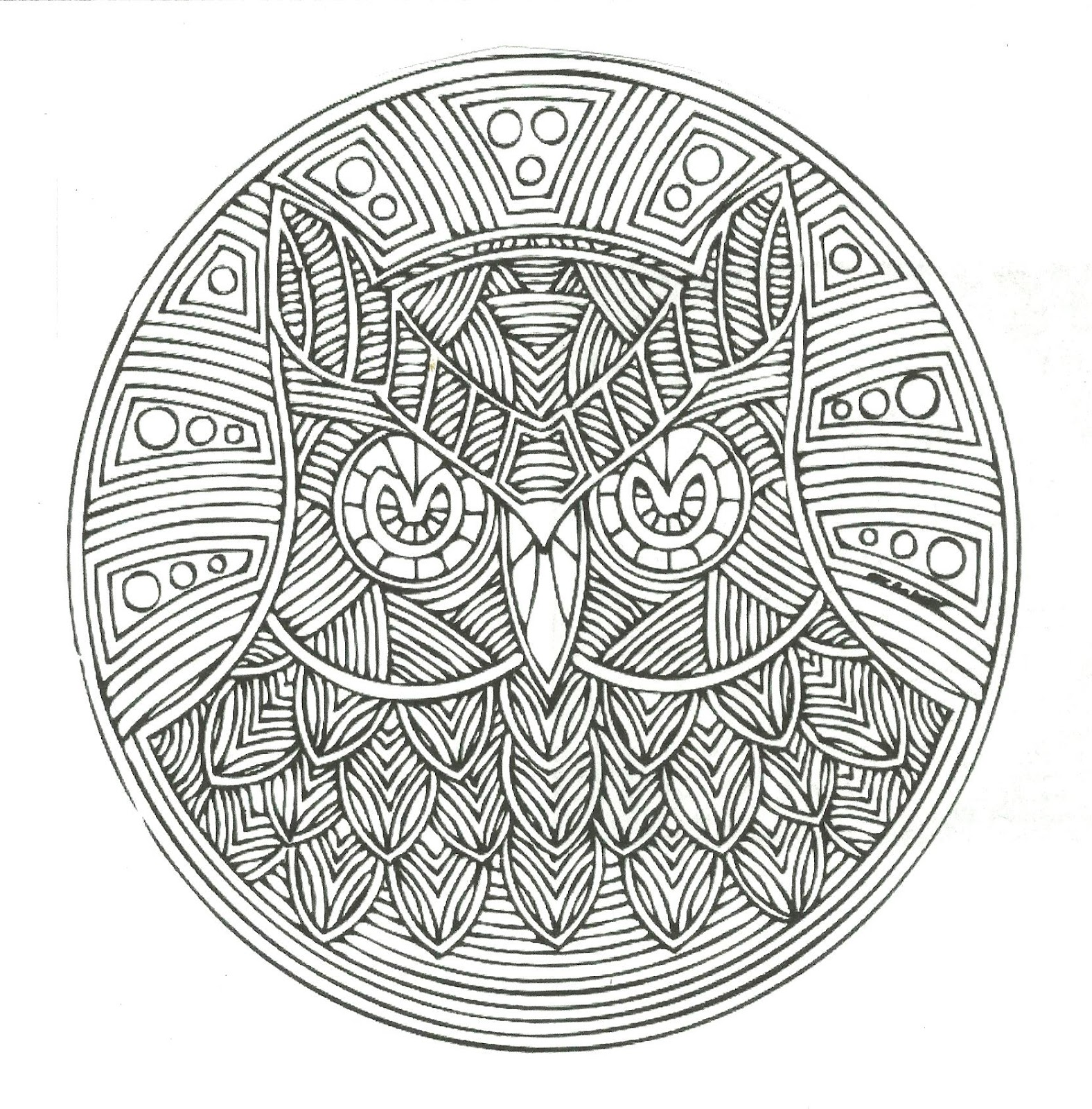 All Things Parchment Craft : Mandala Conversion to Parchment Craft