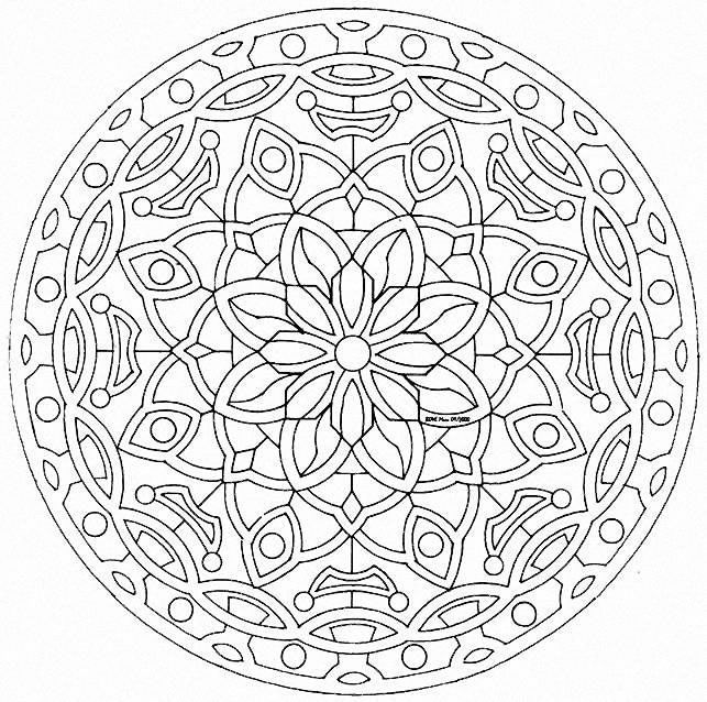 It's just a photo of Sweet Mandalas Print Out