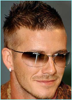 Celebrity short hairstyles for men 2009