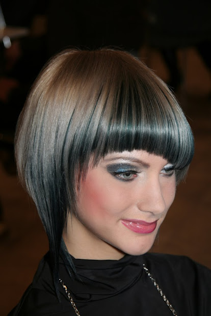 layered hairstyle inverted bob
