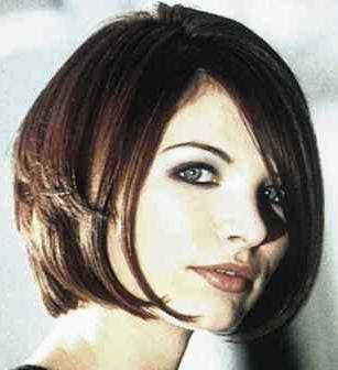 Inverted Bob Haircut in 2009