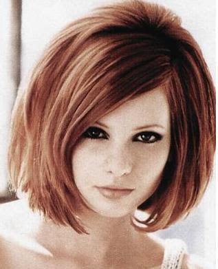 Bob Haircut from Celebrity Women 2010. Angled bob hairstyles 2010