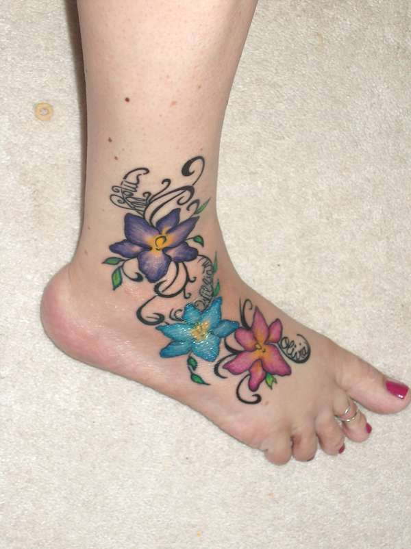 infinity tattoo women foot tattoos. Black Bedroom Furniture Sets. Home Design Ideas
