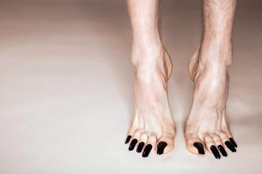 No calor do momento Unha do pé comprida n u00e3o! -> Decoração De Unhas Do Pé