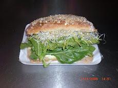 "Sandwich ""Clorofila"" $ 22"