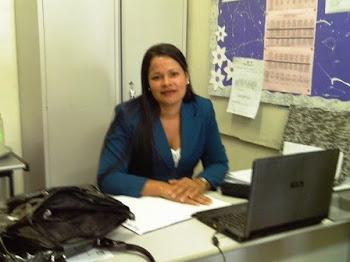 Getora da Escola Nazaré Vasconcelos_ Professora Marcilene Costa
